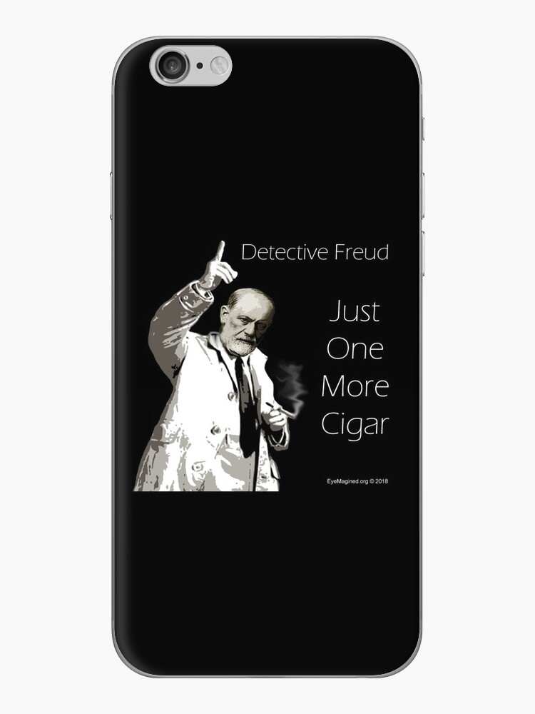 Just One More Cigar: Detective Freud by EyeMagined