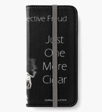 Just One More Cigar: Detective Freud iPhone Wallet/Case/Skin