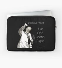 Just One More Cigar: Detective Freud Laptop Sleeve