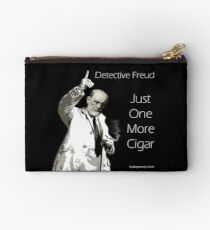 Just One More Cigar: Detective Freud Studio Pouch