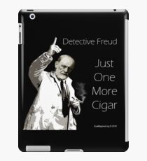 Just One More Cigar: Detective Freud iPad Case/Skin