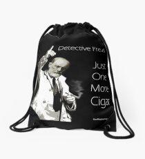 Just One More Cigar: Detective Freud Drawstring Bag