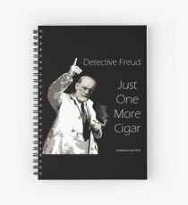 Just One More Cigar: Detective Freud Spiral Notebook