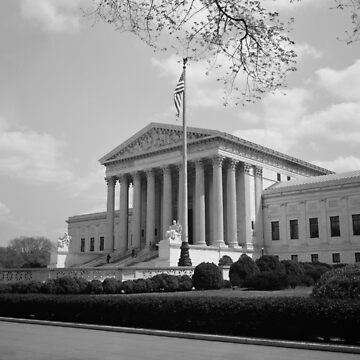United States Supreme Court Building - 1935 by warishellstore