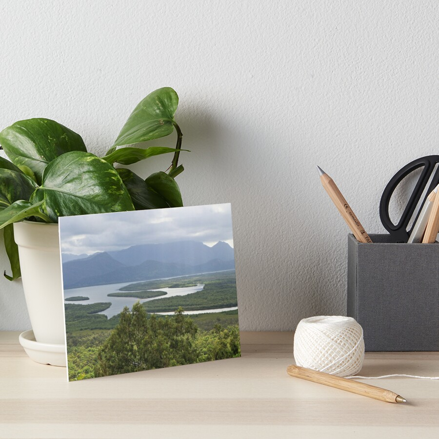 Hinchinbrook Channel Art Board Print