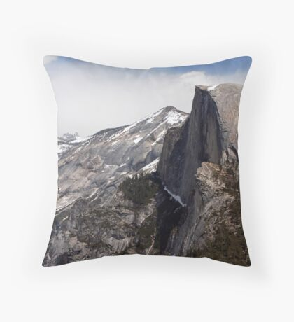 View from Glacier Point Throw Pillow