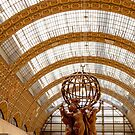 Musee d'Orsay Interior  View - Paris, France by Buckwhite