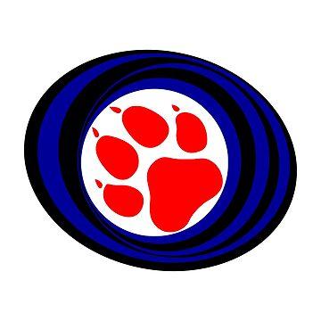Pup Pride Circle by Steve616