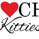 I Love CH Kitties - Cerebellar Hypoplasia Awareness by VanadisDesign