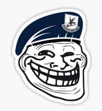USAF Security Trollface Sticker