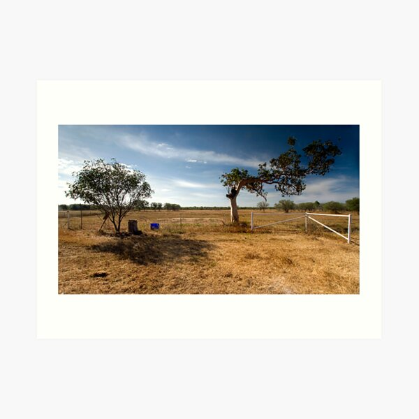 Evidence of a westerly wind Art Print