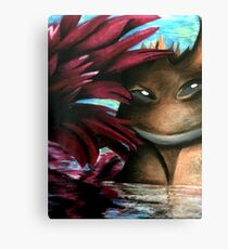 Lily dragon  Canvas Print