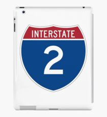 Interstate 2 iPad Case/Skin