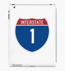 Interstate 1 iPad Case/Skin