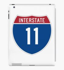 Interstate 11 iPad Case/Skin