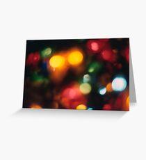 Christmas Abstract 1 Greeting Card