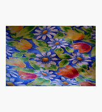 Daisies and Tulips Photographic Print