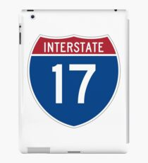 Interstate 17 iPad Case/Skin