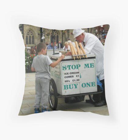 Der Eisverkäufer Kissen