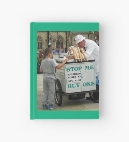 Der Eisverkäufer Notizbuch