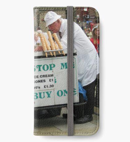 Der Eisverkäufer iPhone Flip-Case