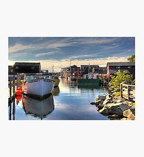 Fisherman's Cove, Eastern Passage Photographic Print