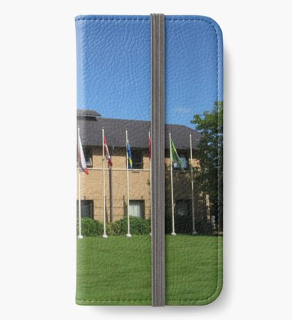 Flags of Many Nations iPhone Flip-Case