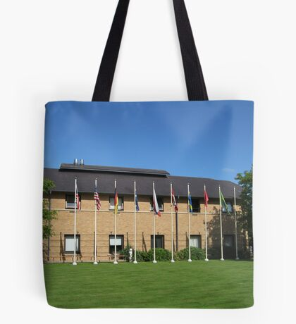 Flags of Many Nations Tote Bag