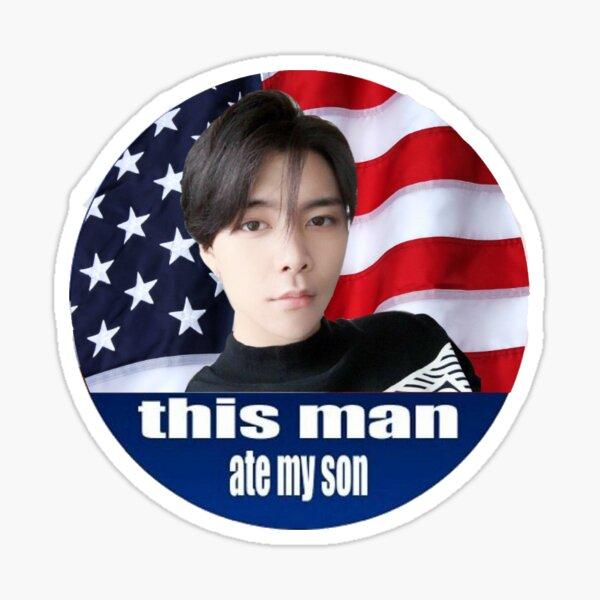 Johnny Seo este hombre comió a mi hijo Pegatina