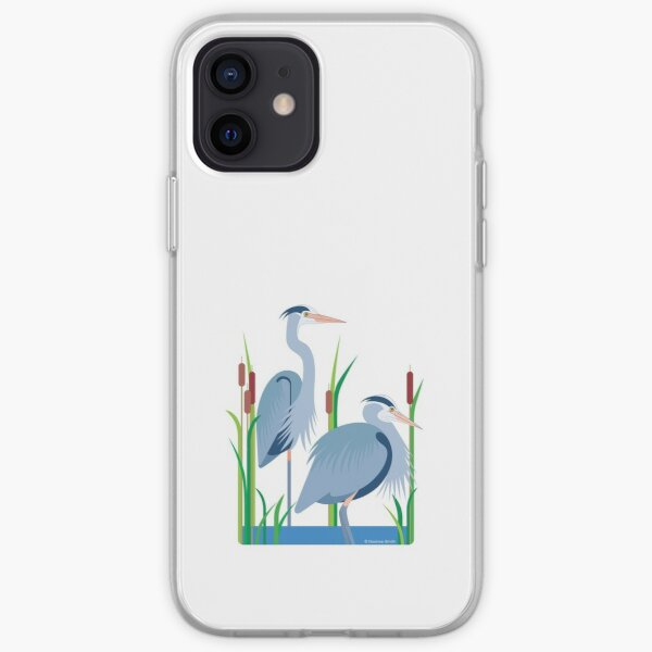 Herons #4 iPhone Soft Case