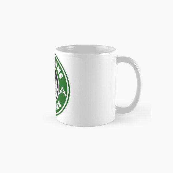 Ich mag Waffen und Kaffee Tasse (Standard)