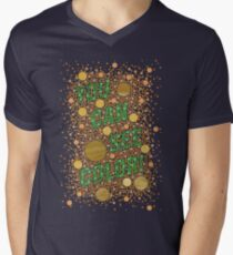 Colorblind!  Men's V-Neck T-Shirt