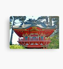 SF Japanese Tea Garden Study 14  Metal Print