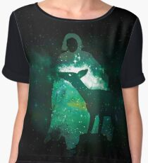 Snape and the Doe Chiffon Top