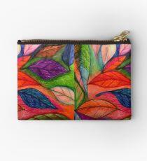 Multicolor leaves Studio Pouch