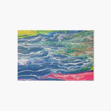 Let It Flow Art Board Print