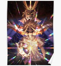 All Might, My Hero Academia Poster