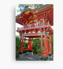 SF Japanese Tea Garden Study 16  Metal Print