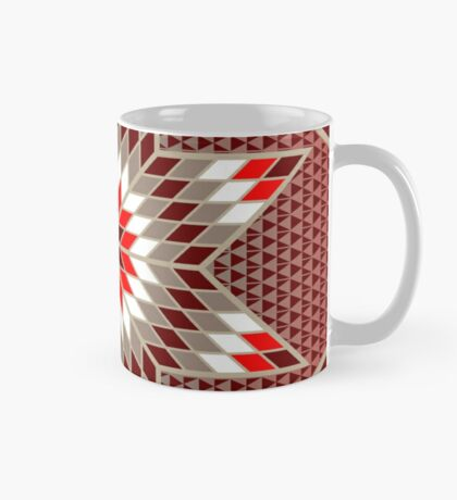 Morning Star with Tipi's (Red) Mug