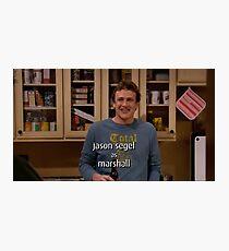 Marshall - Wie ich deine Mutter getroffen habe Ende Kredit Fotodruck