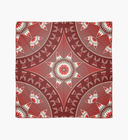 Morning Star with Tipi's (Red) Scarf