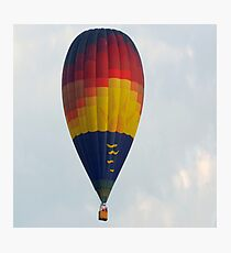 Colorful Hot Air Balloon  Photographic Print