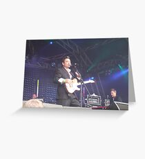 Huey from Fun Lovin Criminals @ Splendour 2009 Greeting Card