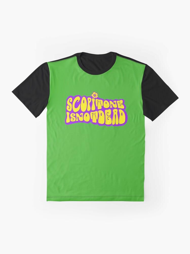 T-shirt graphique ''Logo HIPPIE SCOP'': autre vue