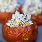 Baked Tomatoes With Mediterranean Ricotta Filling by Ilva Beretta