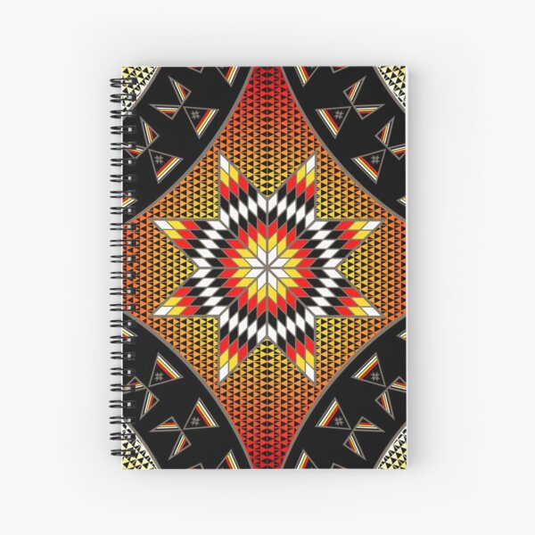 Morning Star with Tipi's (BRYW) Spiral Notebook
