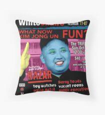 What Now Kim Jong Un? Throw Pillow