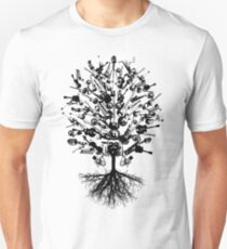 Musical Instruments Tree Unisex T-Shirt