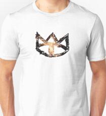 Das Katzen-Reich-Band-Logo Slim Fit T-Shirt