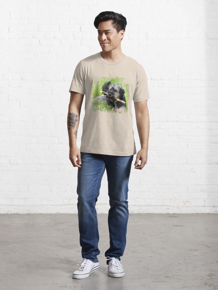 Alternate view of Cute dog Essential T-Shirt